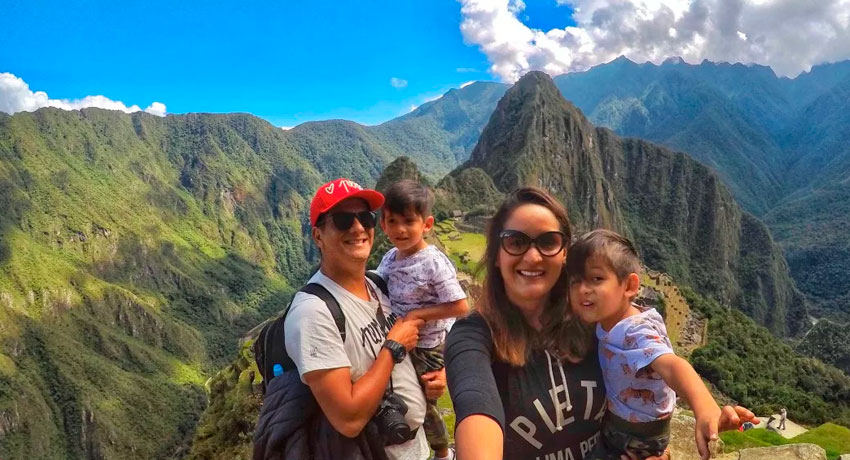 family tour to machu picchu