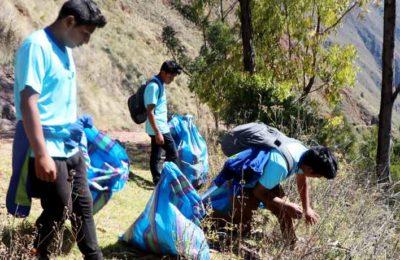 Huchuy Qosqo Trek Cleaning Campain