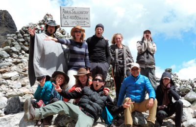 Salkantay Trek; 5 days 4 nights.