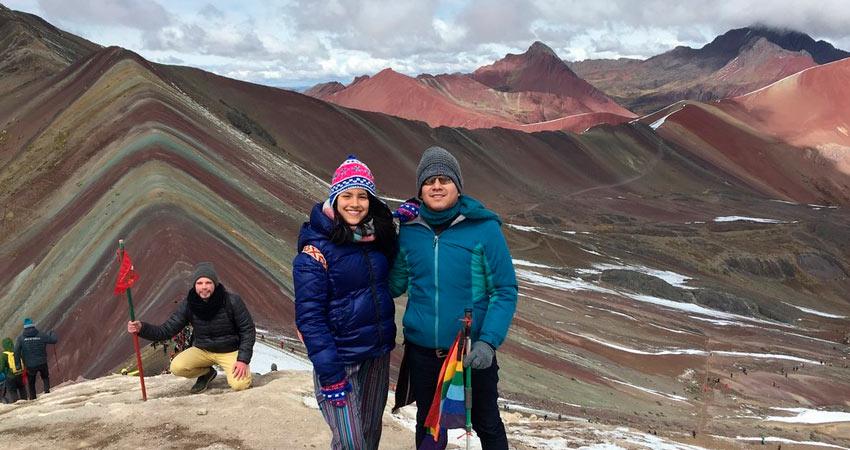 afternoon rainbow mountain hike