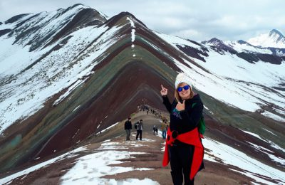 Rainbow Mountain Tour in the Afternoon