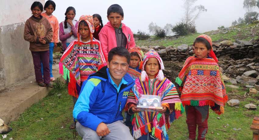 Some Inca Cancha Children
