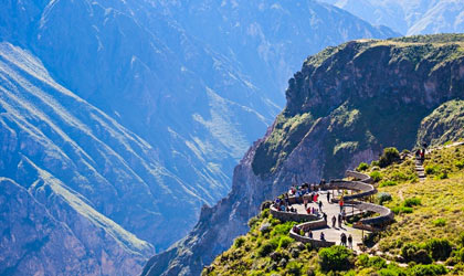 Colca Caonyon Arequipa Travel
