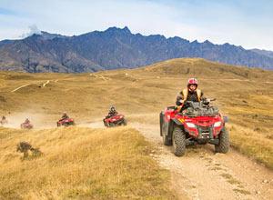 ATVs through Maras Moray and the Salineras