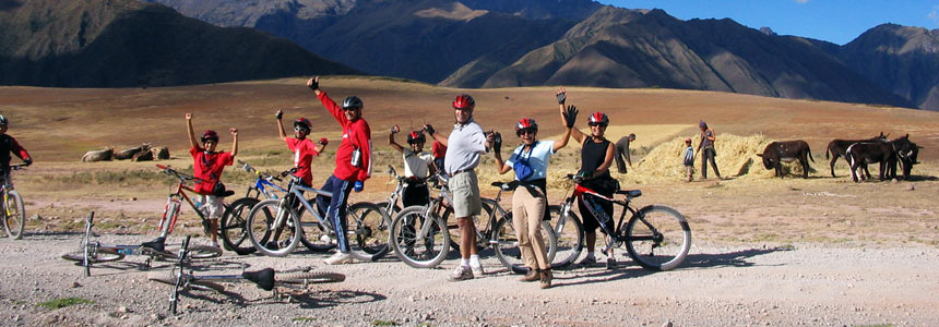 Ride a bike through the Sacred Valley