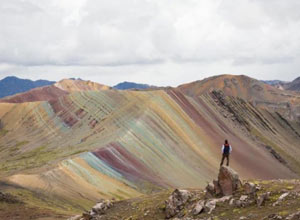 Palcoyo is the other rainbow mountain of Cusco