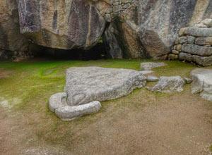 Temple of the Condor of Machu Picchu