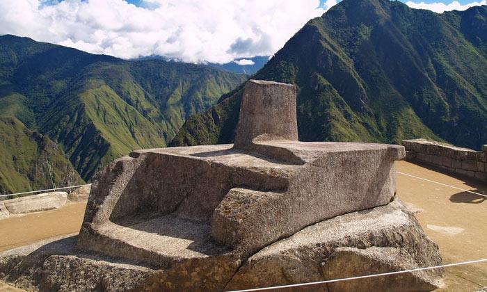Intihuatana of Machu Picchu