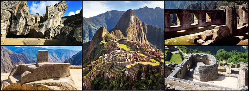 Machu Picchu Areas