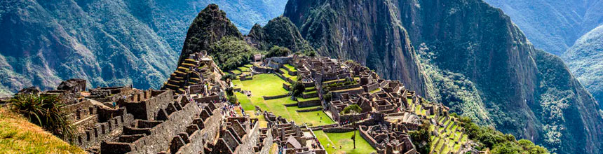 Fountain Staircase in Machu Picchu