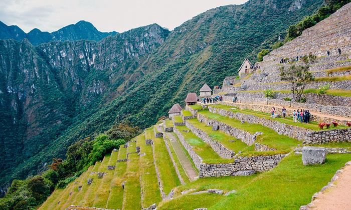 Platforms of Machu Picchu