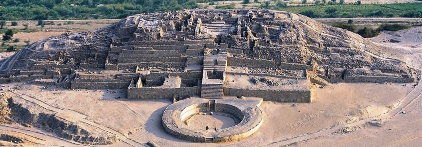 Archeological Sites Sacred City of Caral