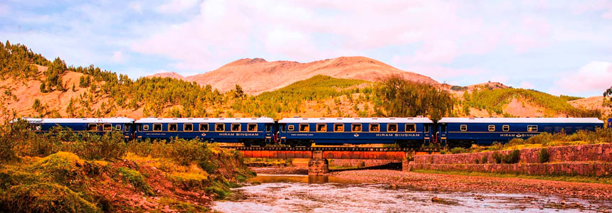 The Hiram Bingham Train to Machu Picchu