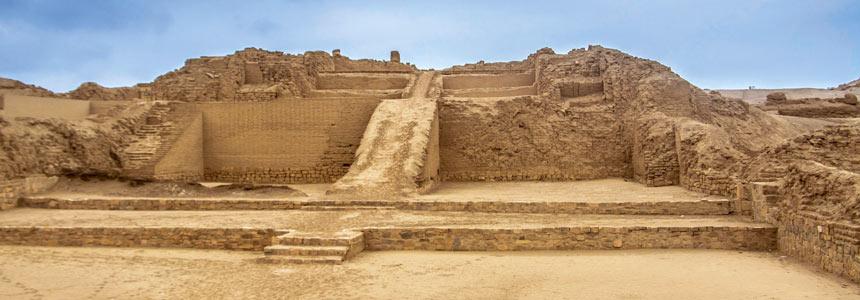 Pachacamac a Great City Close to Lima