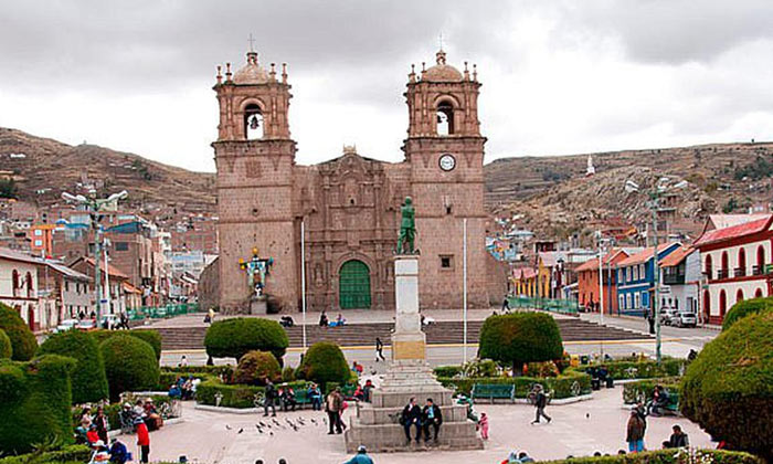 ¿How to get to Puno City?