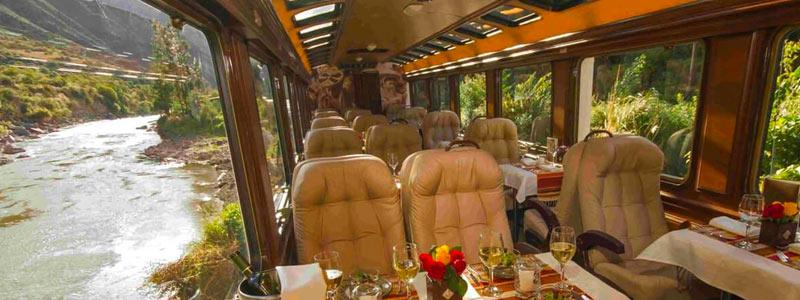 Trains in Peru: FIRST-CLASS